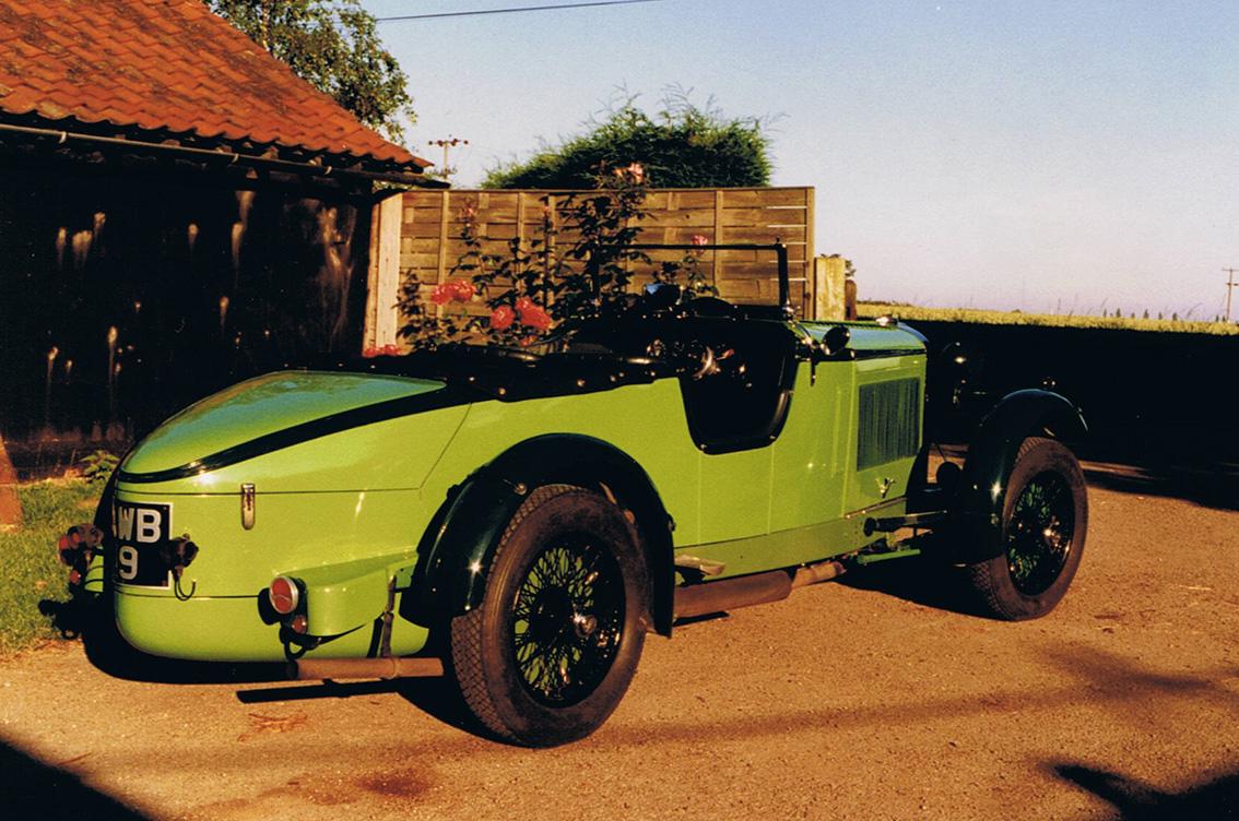 1934 Talbot Alpine Team Car 'BGH 22'