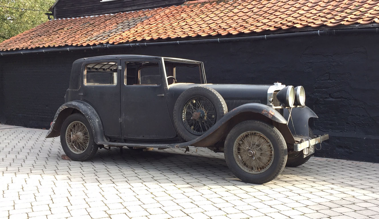 Cars for Sale - 1934 Talbot AW75 Sports Saloon project