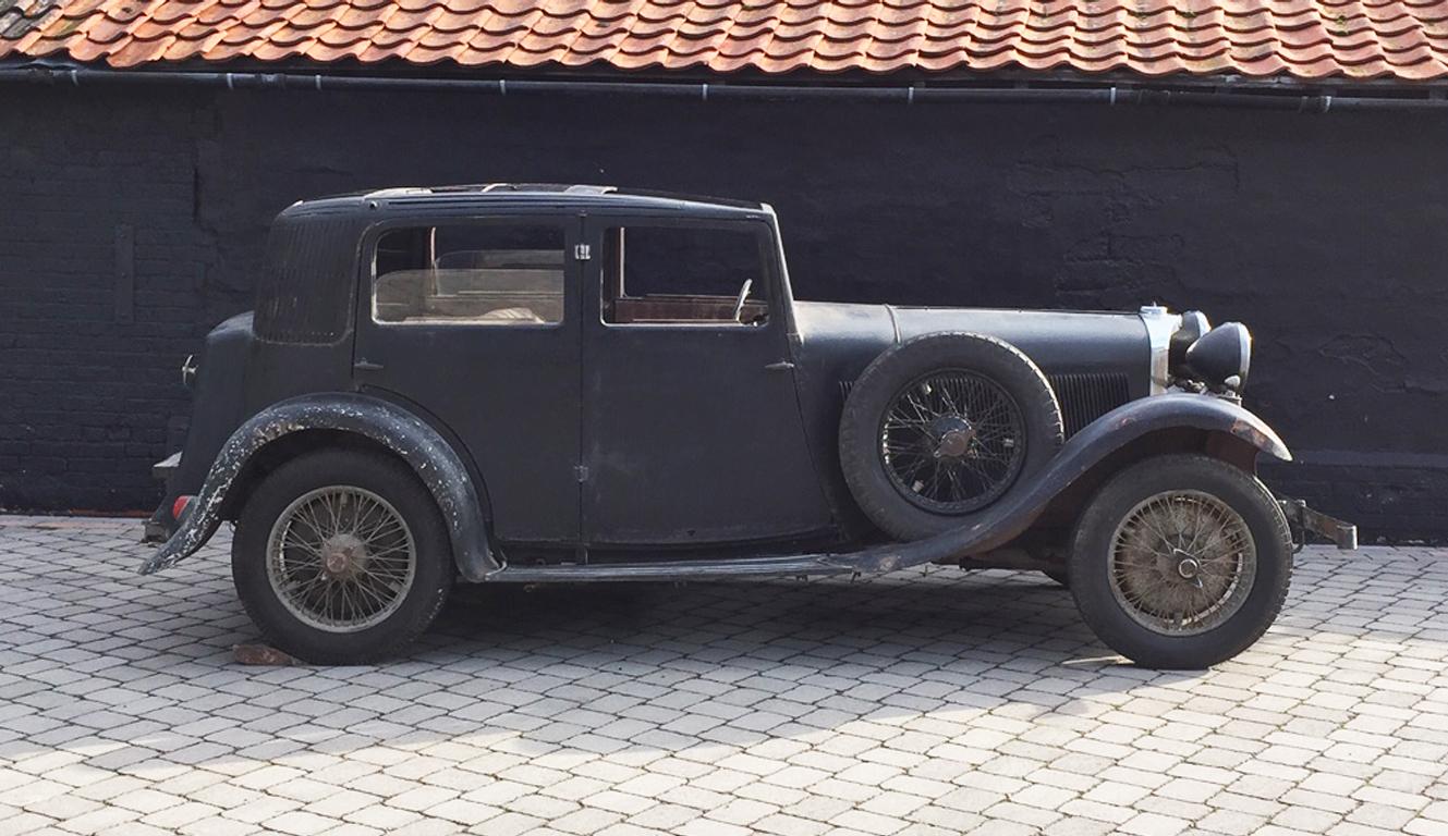 1934 Talbot AW75 Sports Saloon